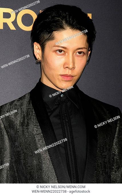 Miyavi 2014 Unbroken Stock Photos And Images Age Fotostock