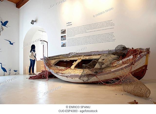 Museo del mare Mu.Ma. (Sea Museum), Sant'Antioco, Sardinia, Italy
