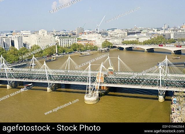 London foot bridge