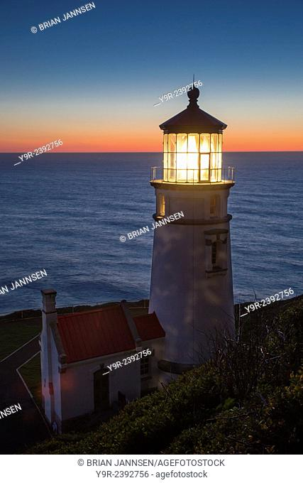 Heceta Head Lighthouse along the Oregon Coast, USA