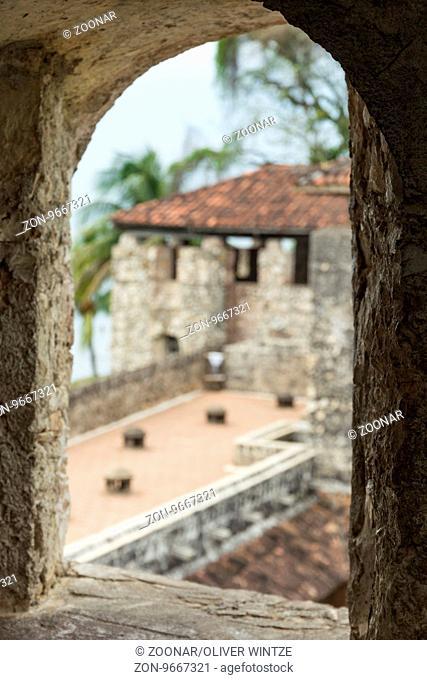 Castillo de San Felipe de Lara in Río Dulce (Guatemala)