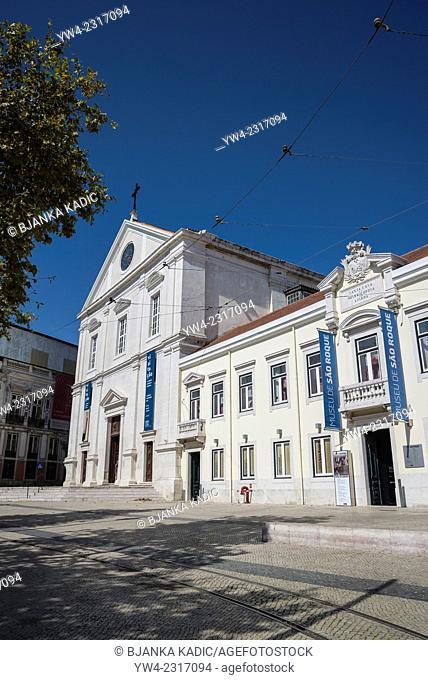 Church of Saint Roch, Igreja de Sao Roque, Lisbon, Portugal