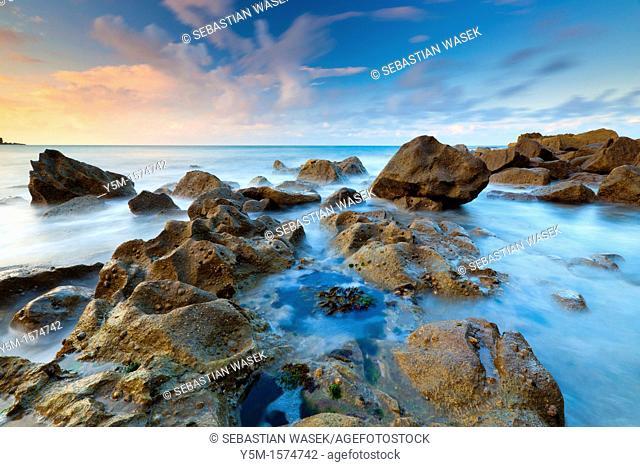 St Govan's Head, Pembrokeshire Coast National Park, Broad Haven, Wales, UK
