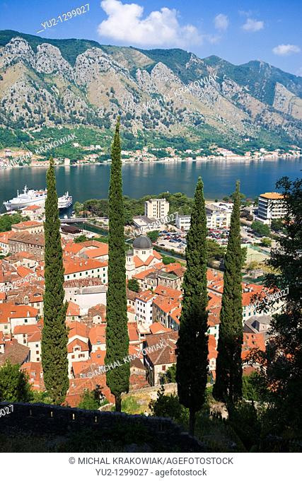 View on Kotor in Montenegro