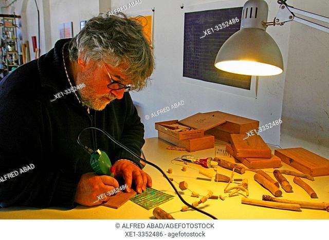 artisan, industrial polygon, plaza del Nou, Zona Franca, Barcelona, Catalonia, Spain