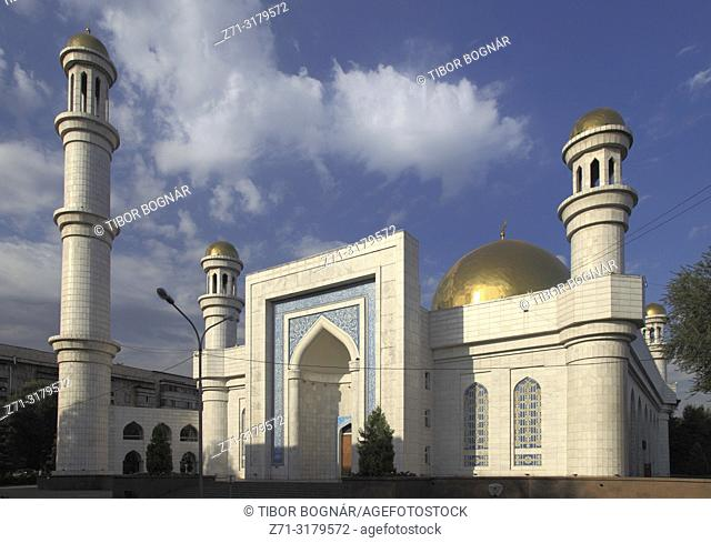 Kazakhstan; Almaty, Central Mosque,