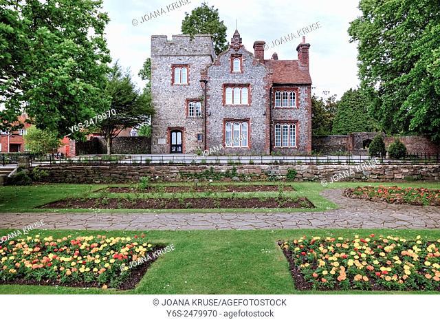 Canterbury, Tower House, Kent, England, United Kingdom