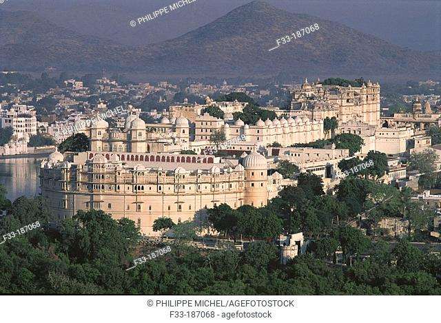 City Palace. Udaipur. India