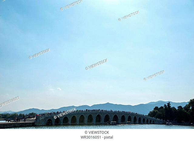 the Summer Palace in Beijing