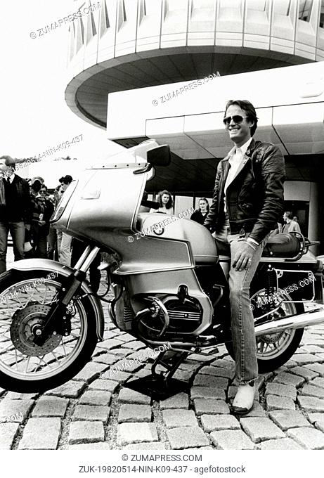May 14, 1982 - Munich, GERMANY - American actor PETER FONDA visiting BMW-Museum in Munich. Known in turn as Henry Fonda's son, Jane Fonda's brother