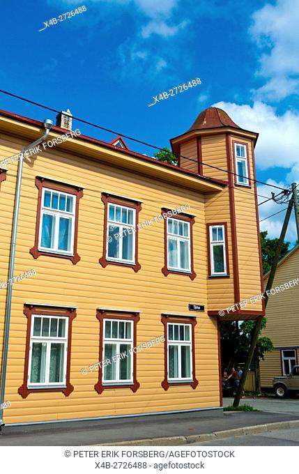 Tähe street, Karlova, Tartu, Estonia, Baltic States, Europe