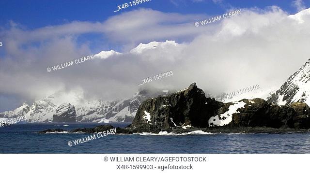 Antarctic coastline