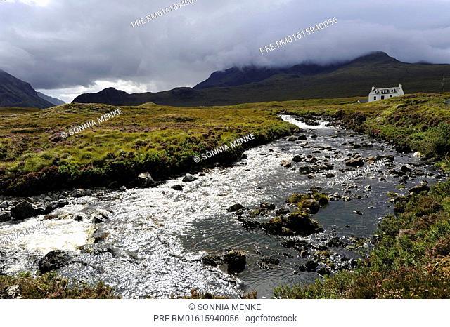 Cuillin Hills, Minginish, Isle of Skye, Scotland, Great Britain / Cuillin Hills, Minginish, Isle of Skye, Schottland, Großbritannien