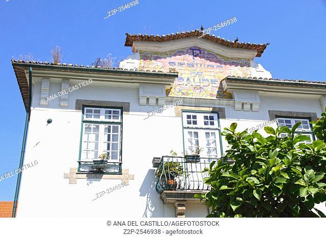 Cityscape in Gaia Porto Portugal