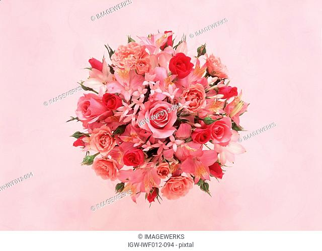 View of a decorative bouquet