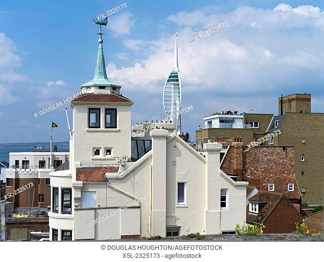 Old Portsmouth PORTSMOUTH HAMPSHIRE Naval house architecture