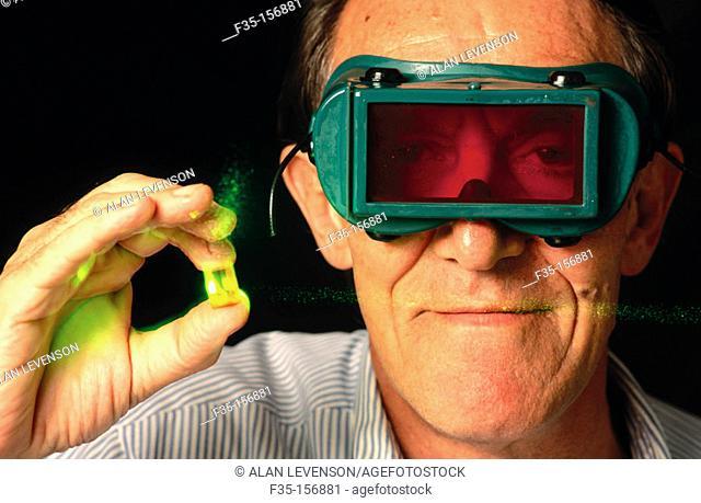3D Optical memory scientist