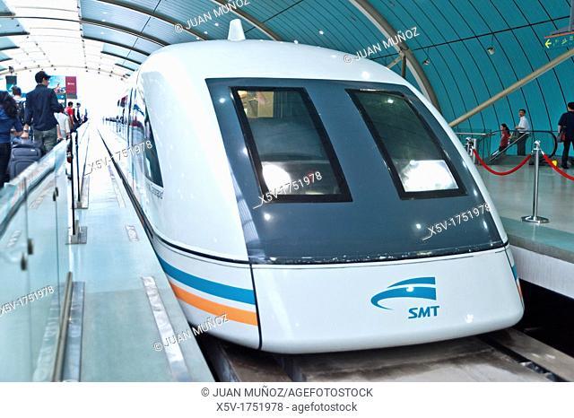 Maglev Train, Transrapid, Shanghai, China