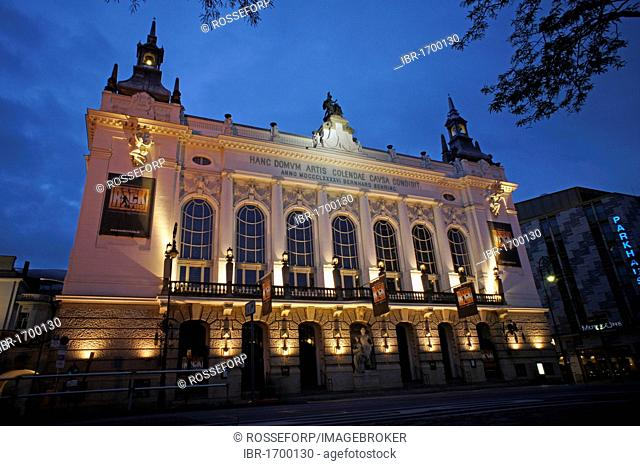 Theater des Westens theatre, built between 1895 and 1896 in the style of Wilhelmine historicism by Bernhard Sehring, Kantstrasse street, Berlin, Germany, Europe