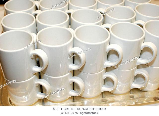 Coffee cups. 'Westin Diplomat Resort and spa', Florida, USA