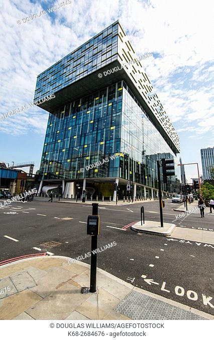 Palestra London, Southwark office building, London, UK designed by Will Alsop, architect