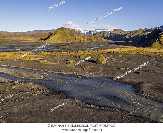 Landscape, Thorsmork, Iceland