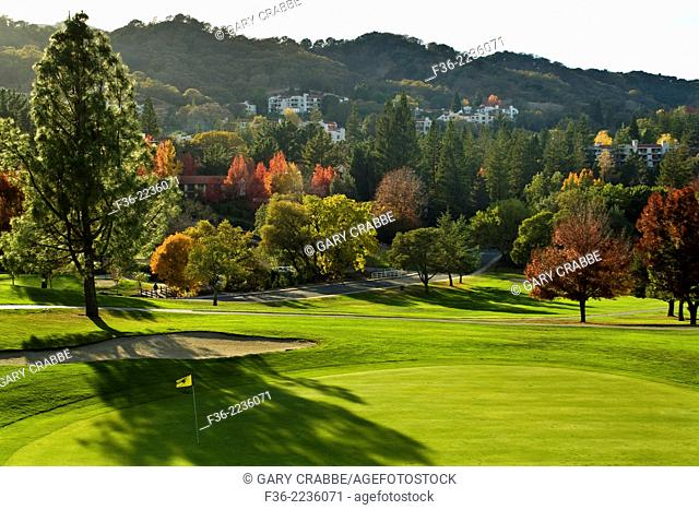 Golf Course at Rossmore Retirement Community, Walnut Creek, California