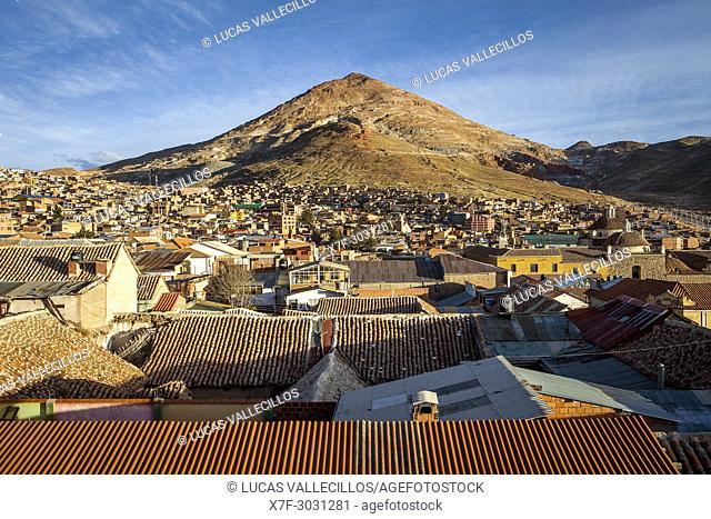 Cerro Rico and Potosi, Bolivia