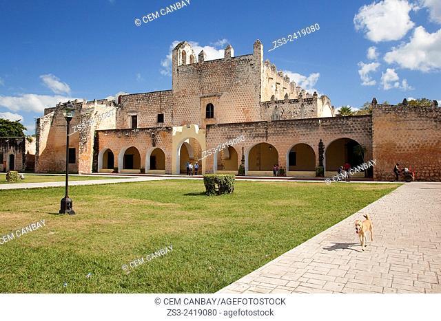 Templo de San Bernardino y Convento de Sisal, Valladolid, Yucatan Province, Mexico, Central America
