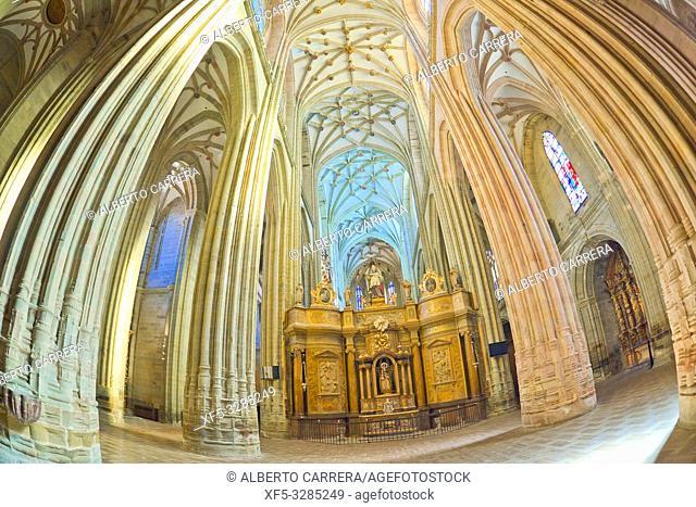Cathedral Of Astorga, 15-18th Century Gothic-Renaissance Style, Astorga, León, Castilla y León, Spain, Europe