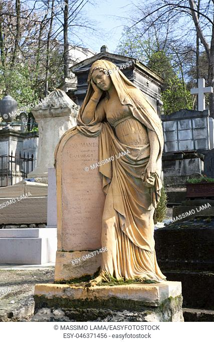 Cemetery Pere-Lachaise, Paris, France