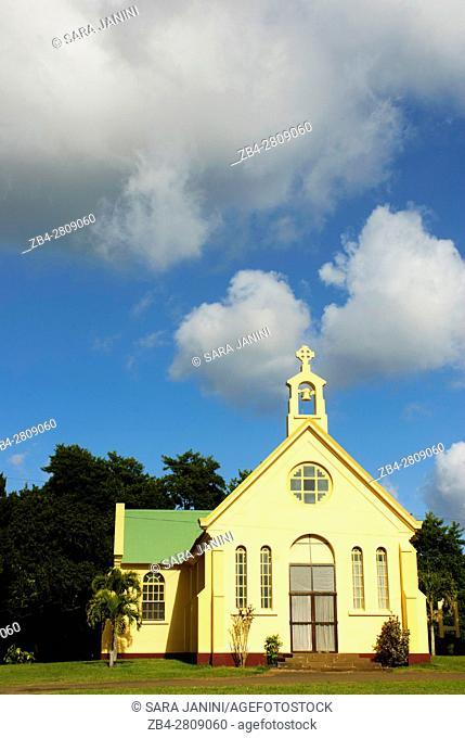 Chapel at Bois Cheri, Mauritius, Indian Ocean, Africa