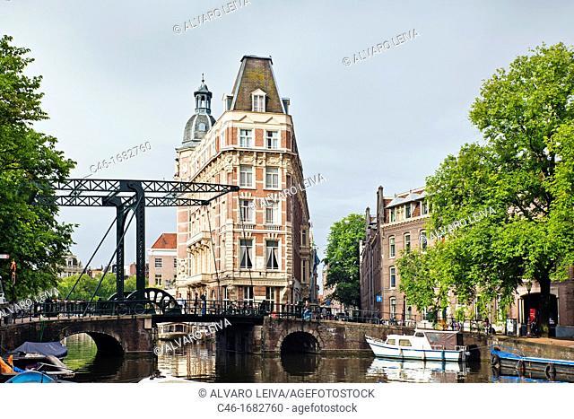 The hotel NH Doelen , Amsterdam, Netherlands