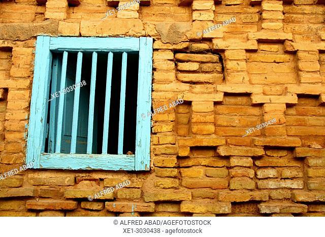 window, Nefta, Tunisia