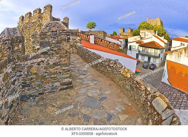 15th Century City Walls of Bragança, Bragança, Portugal, Europe
