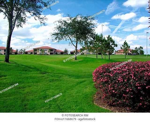 Orlando, FL, Florida, Orange Lake Country Club and Resort, The Legends Walk, golf course