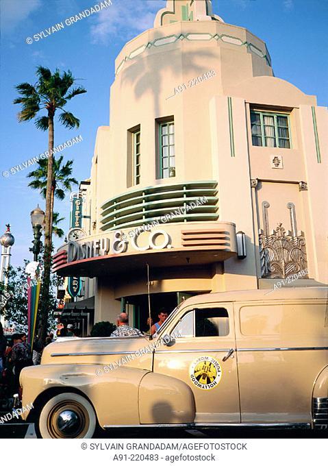 MGM Park Attraction. Walt Disney World. Orlando. Florida. USA