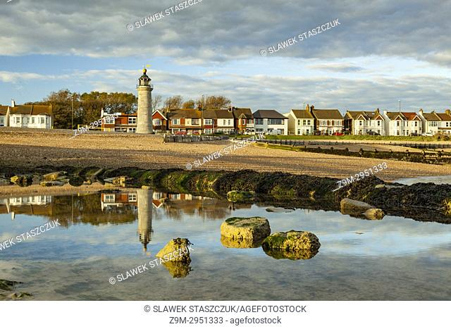 Autumn afternoon in Shoreham-by-Sea, West Sussex, England