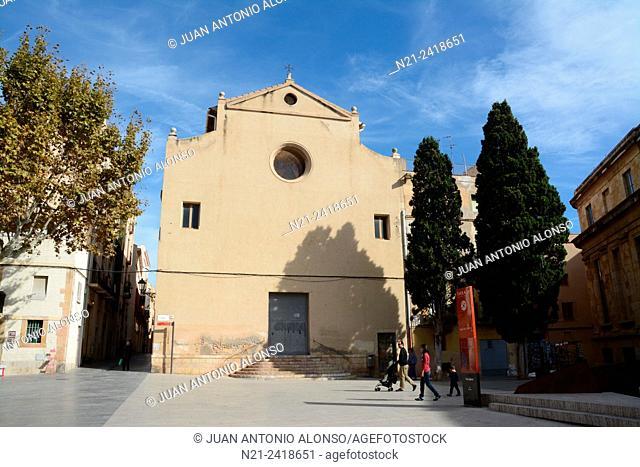 Esglesia de La Trinitat. Plaça del Rei. Tarragona, Catalonia, Spain, europe