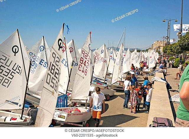 -Competition Model Optimist- Cambrils, Tarragona Spain