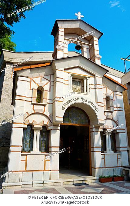 Church of Saint Nicholas, Han Krum square, Sozopol, Bulgaria