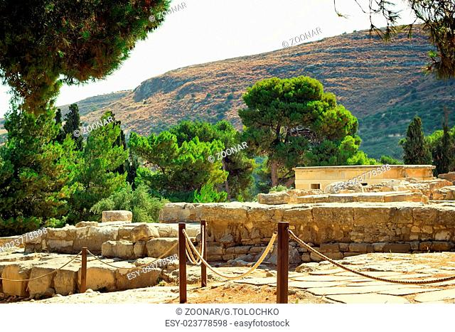 Archaeological site: Knossos Palace of king Minos