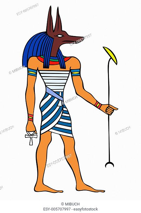 God of Ancient Egypt - Anubis