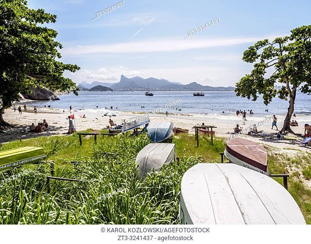 Jurujuba Beach, Niteroi, State of Rio de Janeiro, Brazil