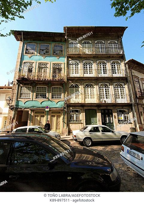 Calles. Guimaraes. Portugal