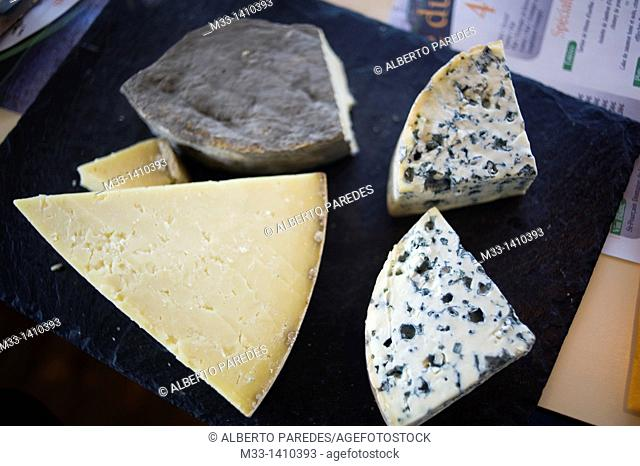 Food, Cheese, Vulcania Auvergne region, France