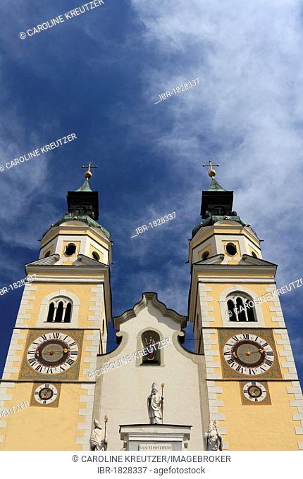 Cathedral of Brixen, Duomo di Santa Maria Assunta e San Cassiano, Piazza Duomo, Brixen, Bressanone, Trentino-Alto Adige, Italy, Europe