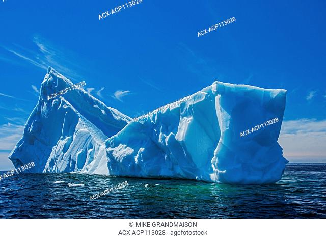 Icebergs in the Atlantic Ocean, St. Anthony, Newfoundland & Labrador, Canada