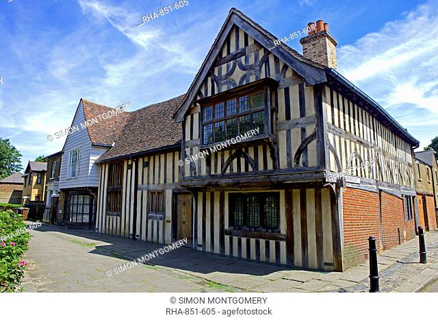 The Ancient House in Walthamstow Village, Walthamstow, East London, England, United Kingdom, Europe