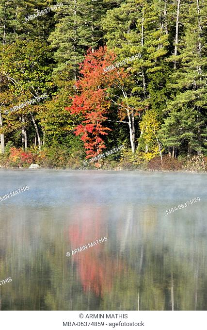 Indian Summer in the US federal state of New Hampshire